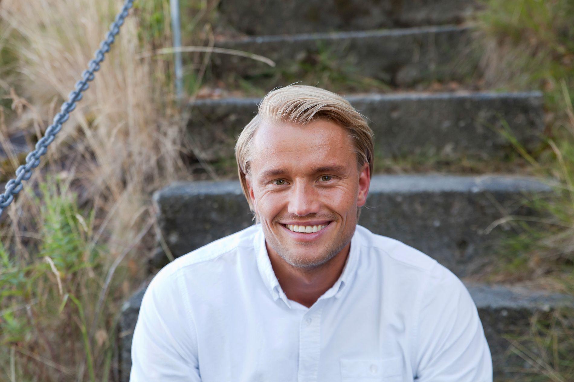 FØR «FARMEN»: Mats Beylegaard Brennemo før han dro inn på gården.