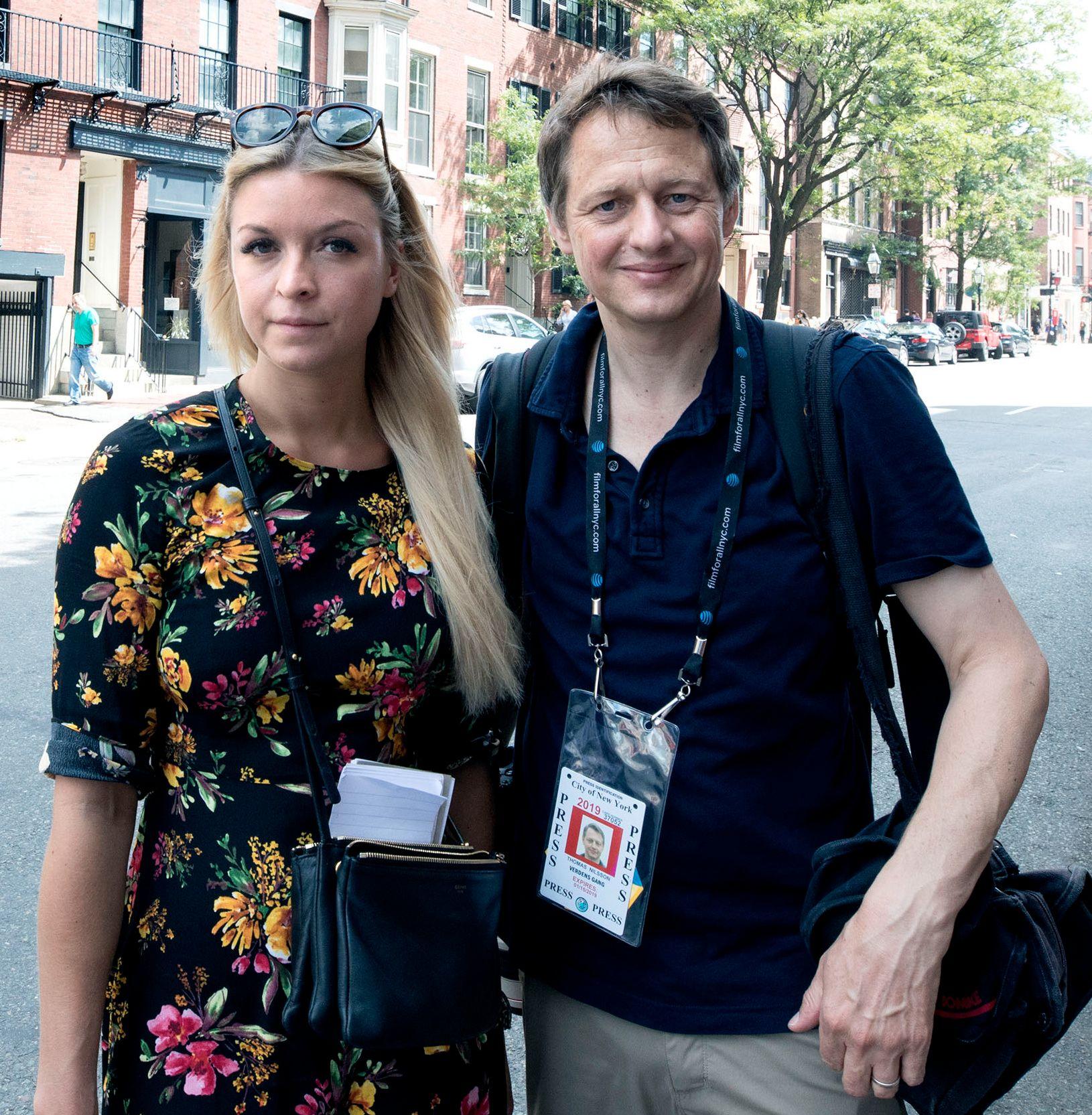 Camilla Huuse og Thomas Nilsson i Boston