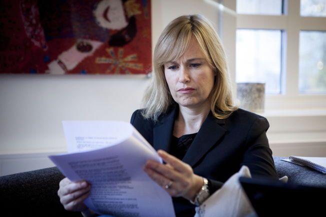 TRIST: Barneombud Anne Lindboe sier at det er vondt å lese om hva Odin har opplevd.