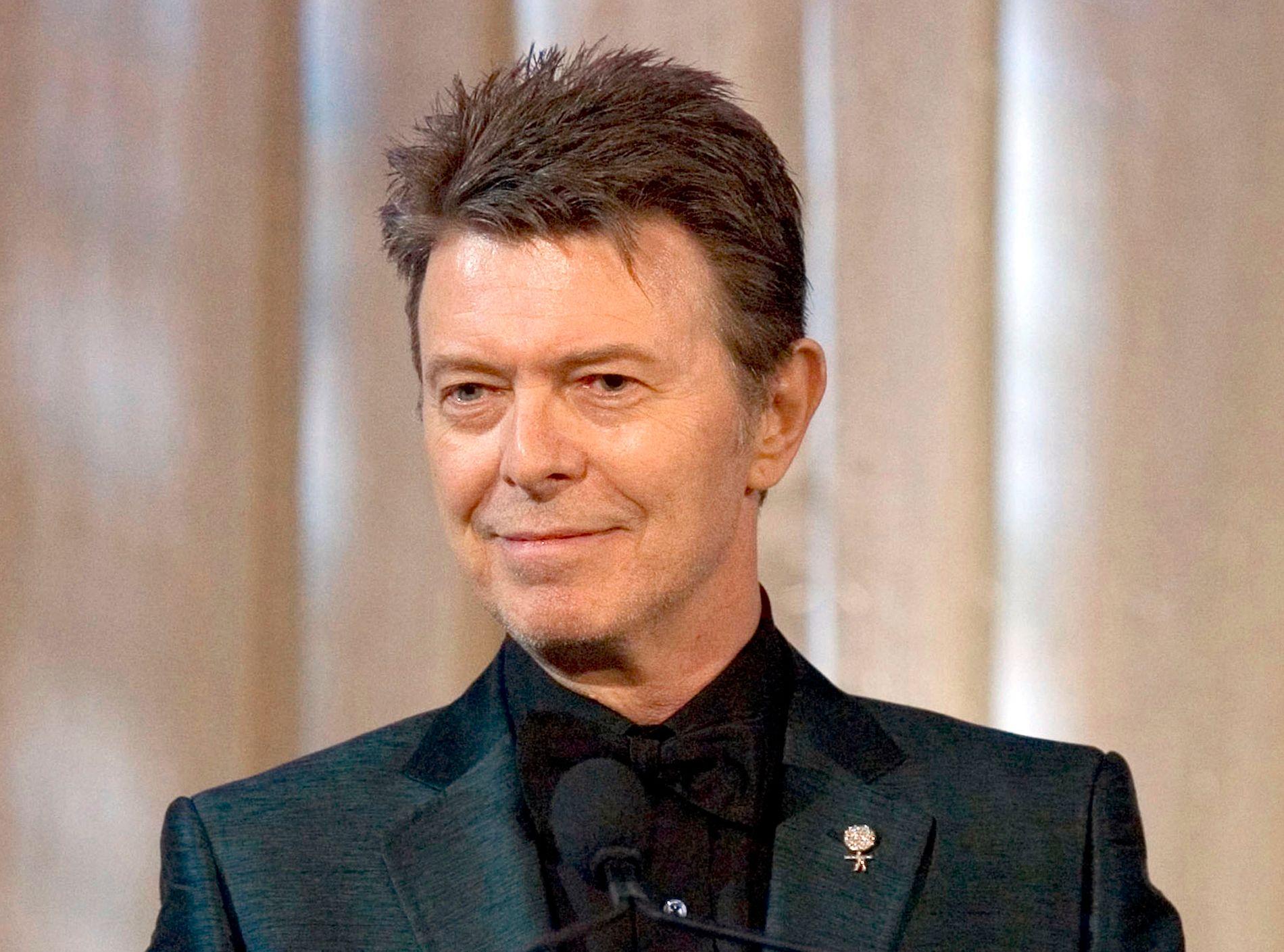 STARTET TIDLIG: David Bowie var allerede som 16-åring i gang med musikk-karrieren. Her er han avbildet i 2007.
