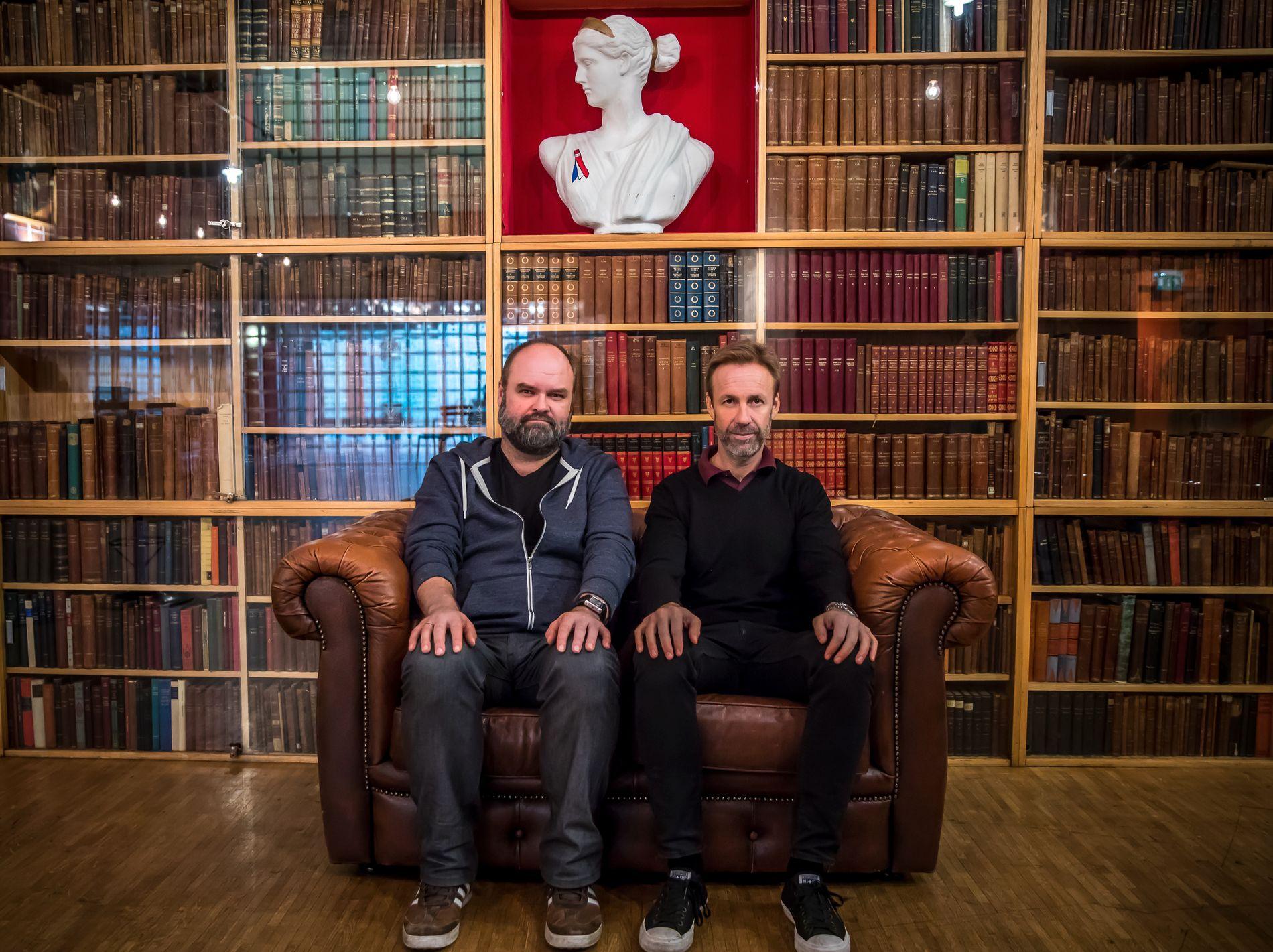 SAMMEN IGJEN: I ukene som kommer inviterer Thomas Giertsen og Atle Antonsen til Humorgalla på Chateau Neuf i Oslo.