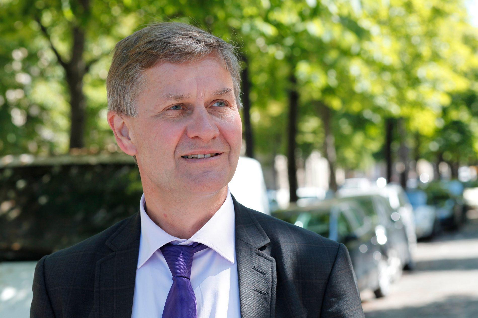 AVVISER REISE-REFS: FN-topp Erik Solheim mener det er  bred forståelse i medlemslandene for at reising er en viktig del av jobben.