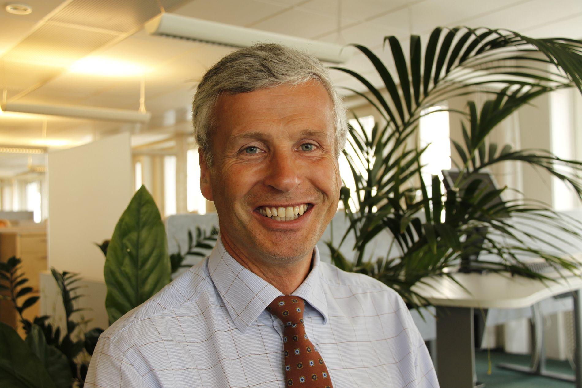 Mathias Martinsen, leder for Nordeas brexit-prosjekt.