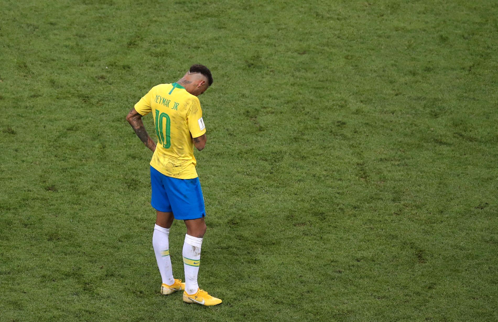 UT! Det gikk ikke denne gangen heller. 26 år gammel var Neymar i nærheten av toppen av karrieren, men en skadeplaget vårsesong kan selvsagt ha preget ham.