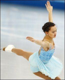 VAKKERT: Anne Line Gjersem imponerte i OL-debuten i går. Foto: NTB Scanpix