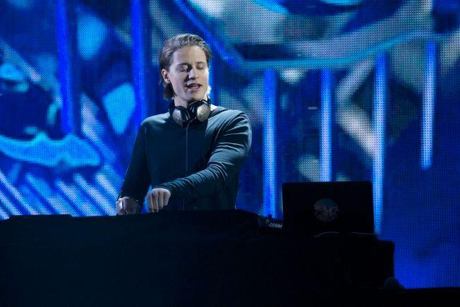 MEST NOMINERT: Kyrre Gørvell-Dahll (24), bedre kjent som Kygo, her under Nobelpriskonserten i desember. Foto: GETTY