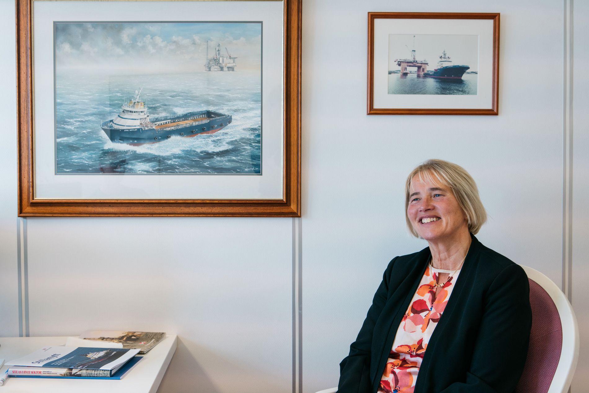 OPTIMISTISK: Tross politisk usikkerhet og lavere investeringsutsikter, så ser Jorunn Møkster lyst på fremtiden til norsk oljebransje.
