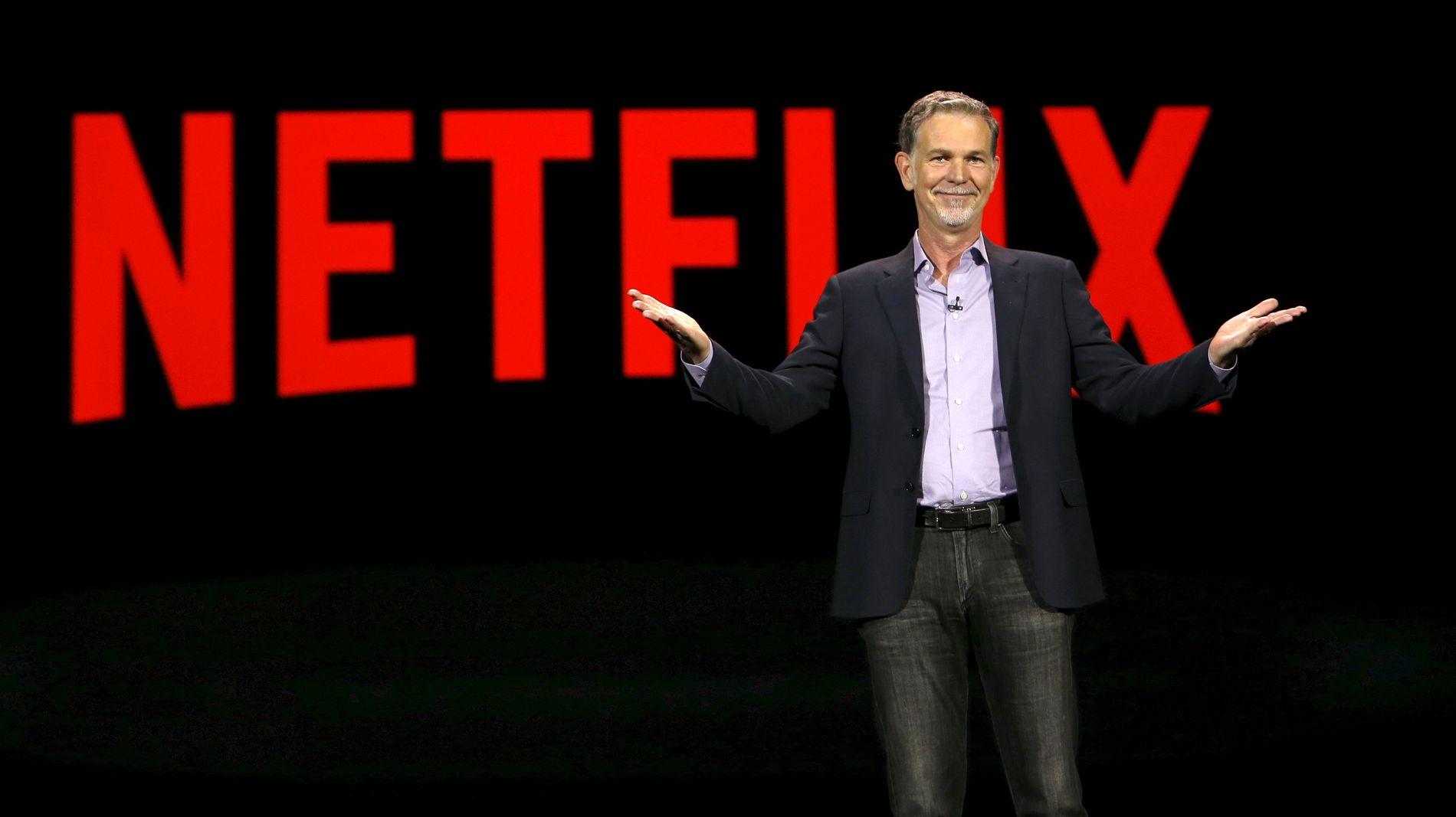 NETFLIX: Reed Hastings, medgrunnlegger og toppsjef i strømmegiganten.