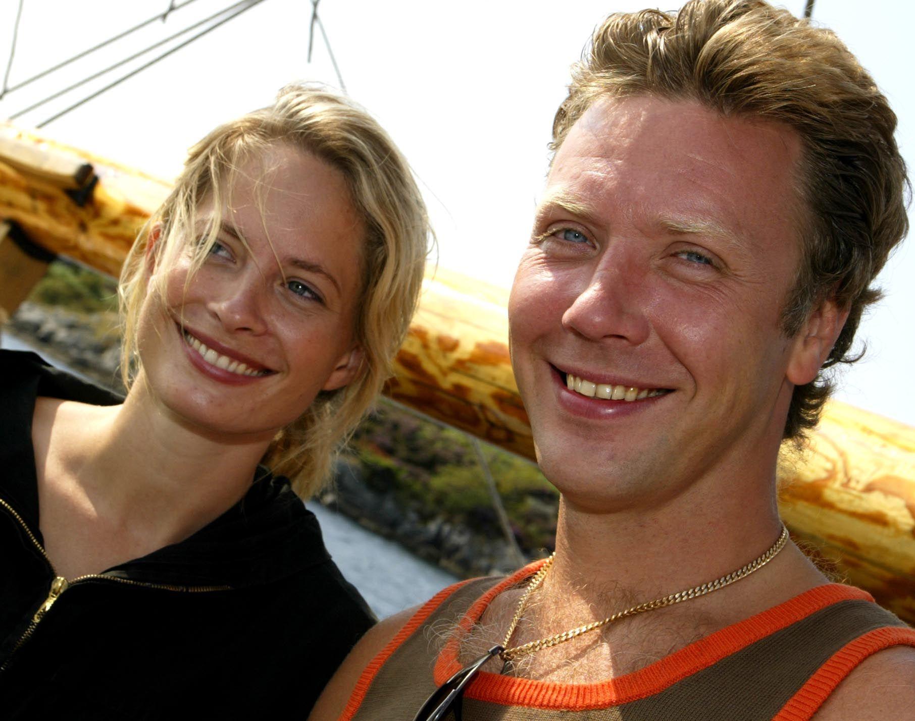 EKSPAR: Maria Bonnevie og Mikael Persbrandt på filmfestival i 2002.