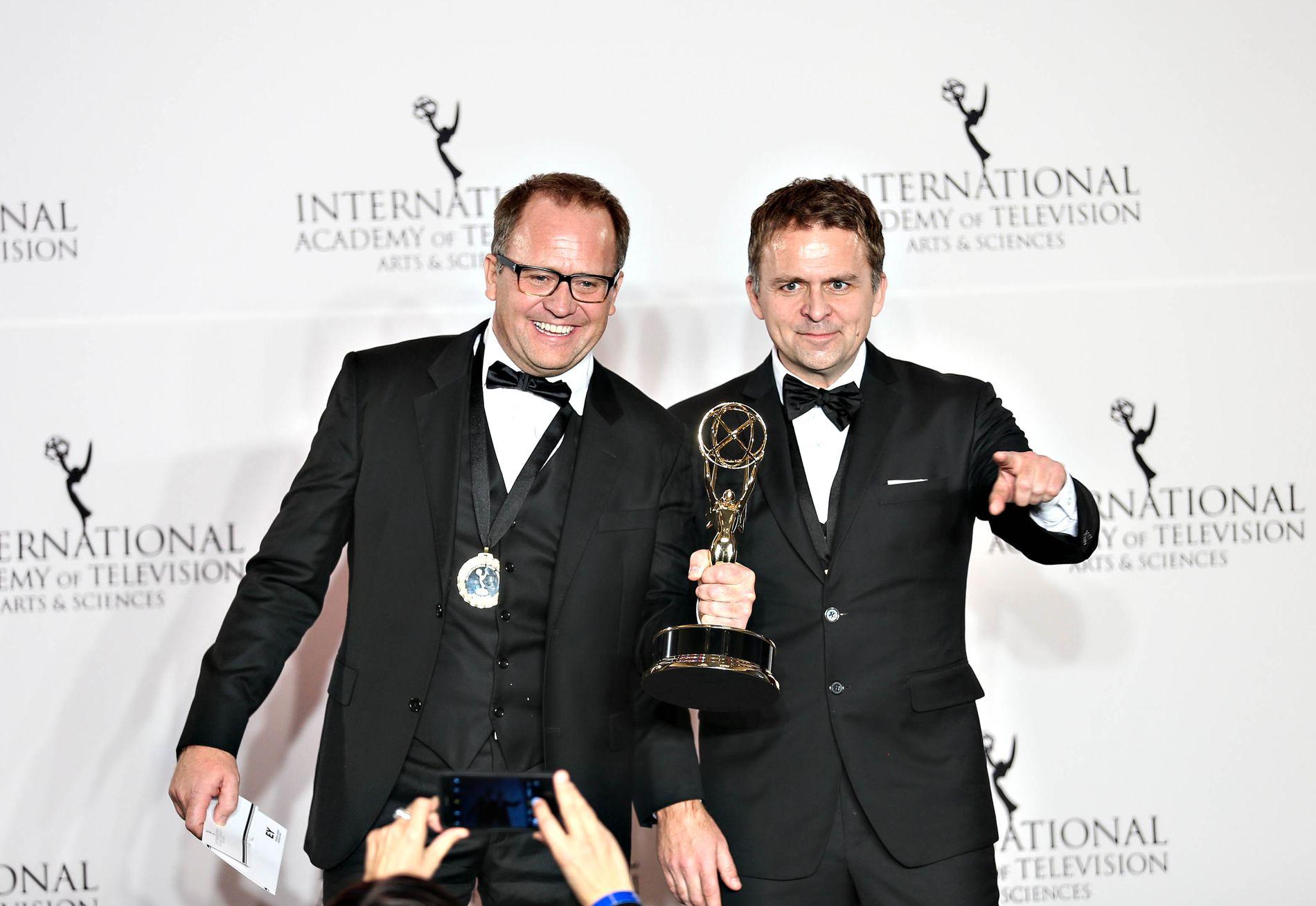 INTERNASJONAL SUKSESS: Brødreparet Vegard (t.v.) og Gjermund Stenberg Eriksen skapte «Mammon»-suksessen.