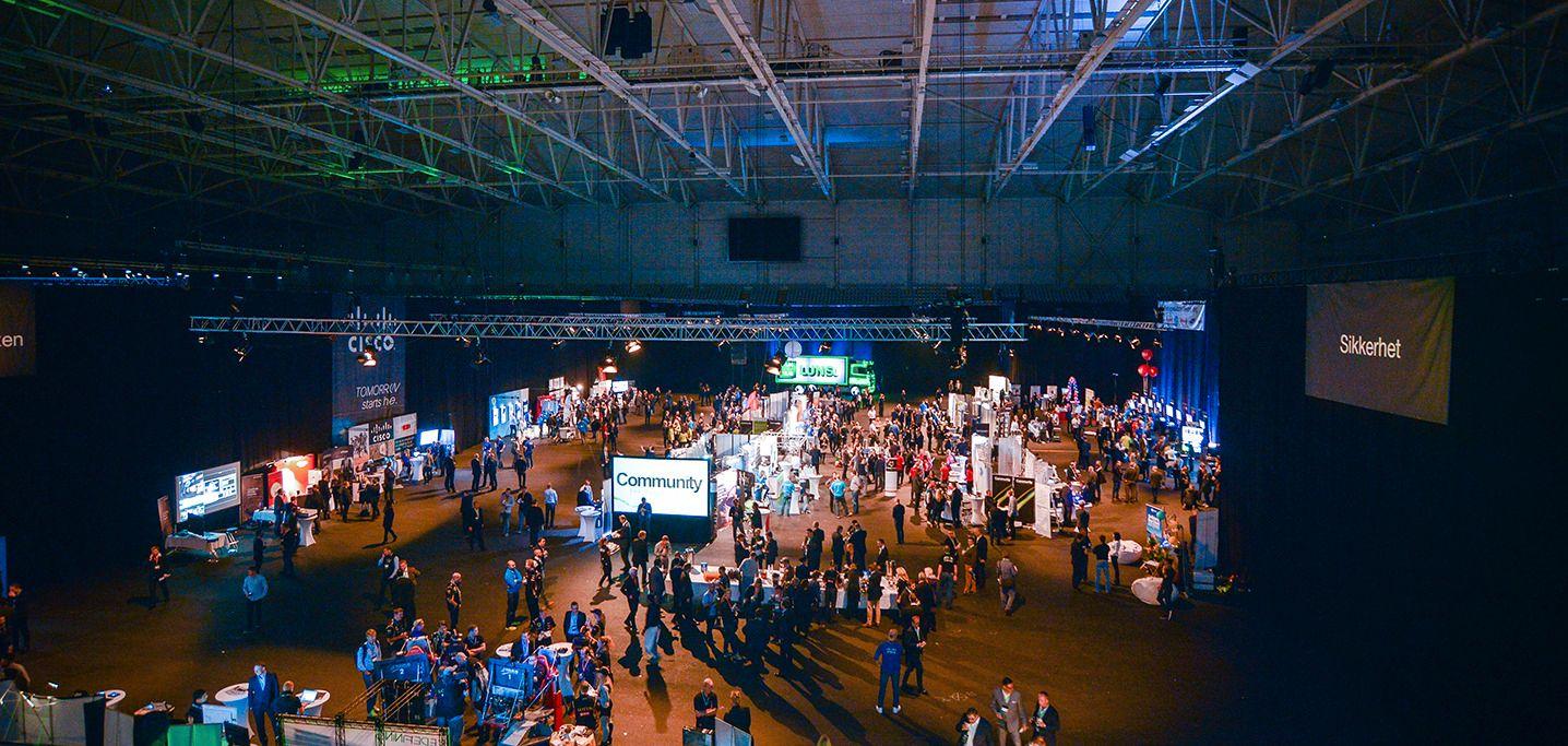 MØT LEVERANDØRENE: På konferanse kan du møte alle leverandøres deres på én dag. Foto: Atea Community 2014