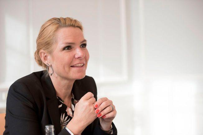 HVIS DU KAN OG VIL: De som kan og vil skal det være plass for i Danmark. De som ikke vil, må ut. Inger Støjberg vil gjøre det vanskeligere å bli dansk statsborger.