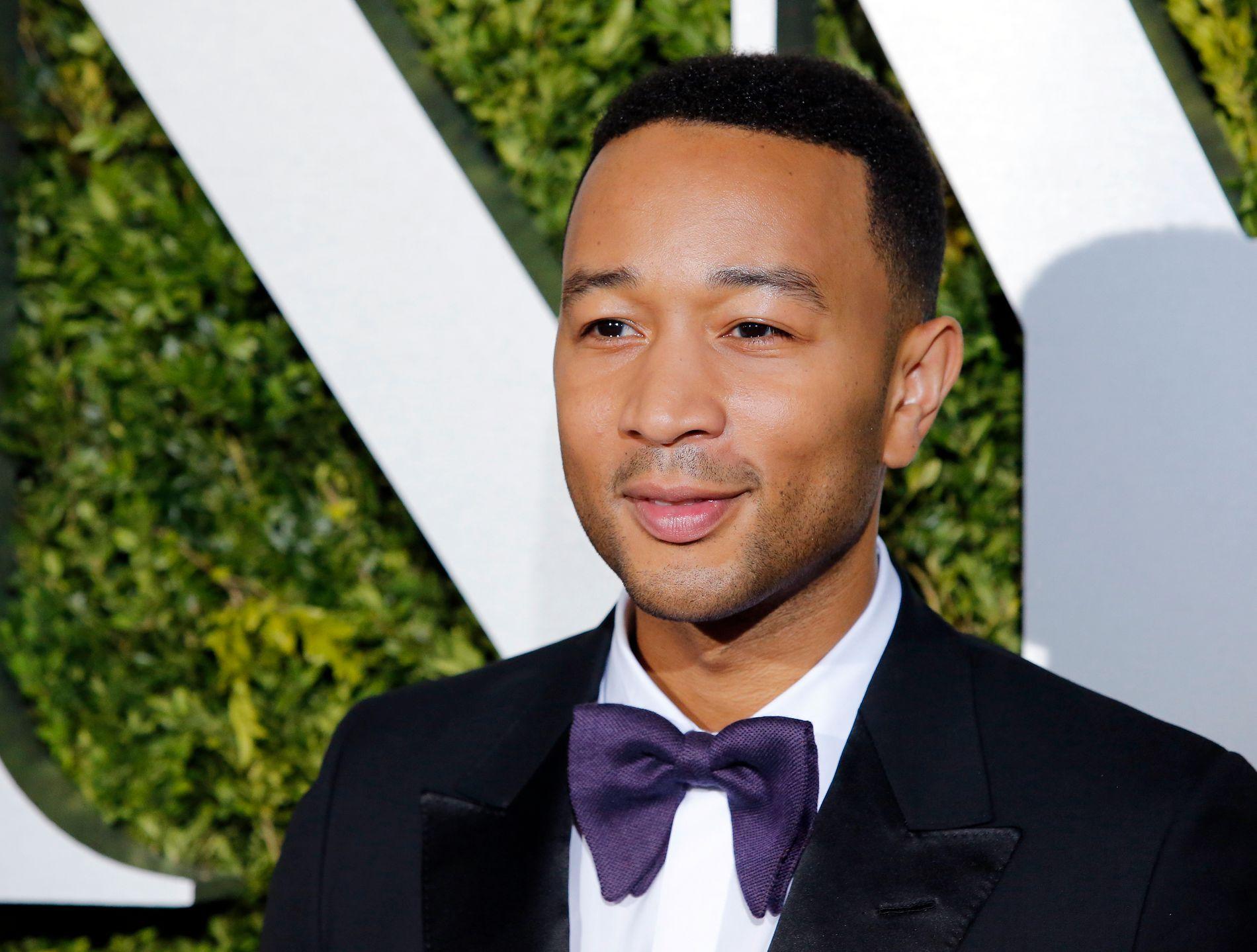 UENIG: John Legend på Tony Awards i New York i juni.