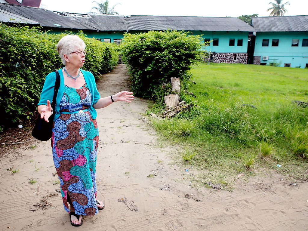 I KONGO: Kari Hilde French har siden i fjor høst hatt et par opphold i Norge, men har i snart tre år bodd mer eller mindre fast i Kongo.