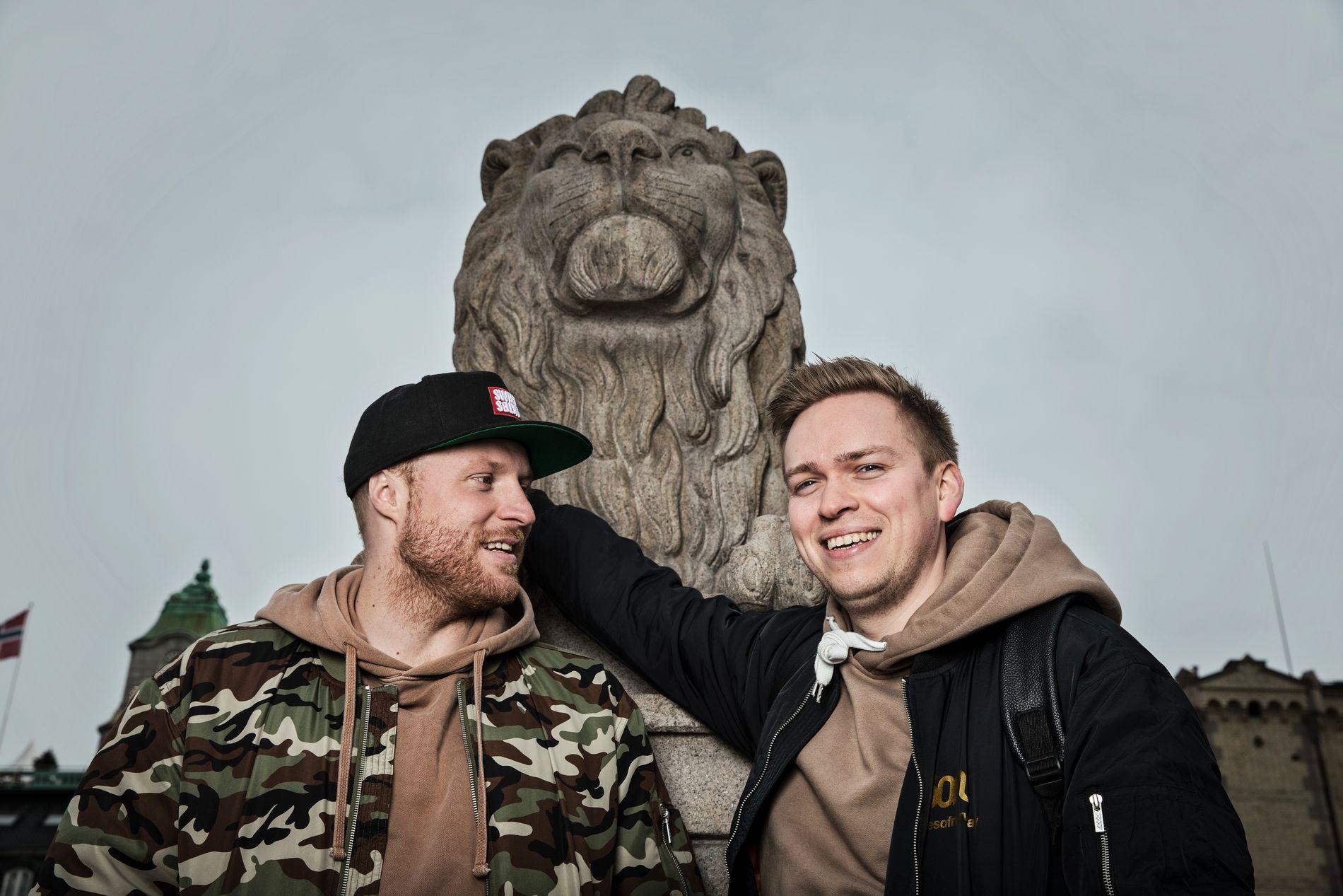 VG-LISTA KLARE: Joakim With Steen og Aleksander Walmann i Jowst kommer til Rådhusplassen 24.juni