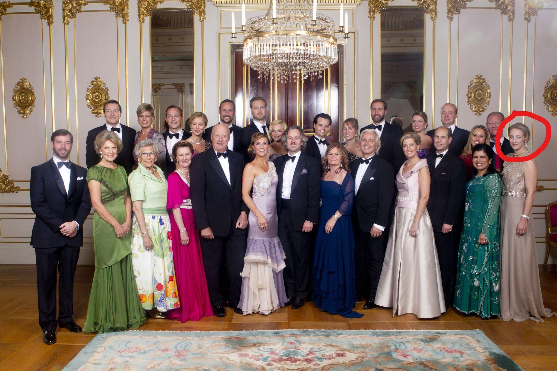 NÆRE VENNINNER:  Prinsesse Alexandra (t.h) var  gjest da Märtha fylte 40 år i 2011.