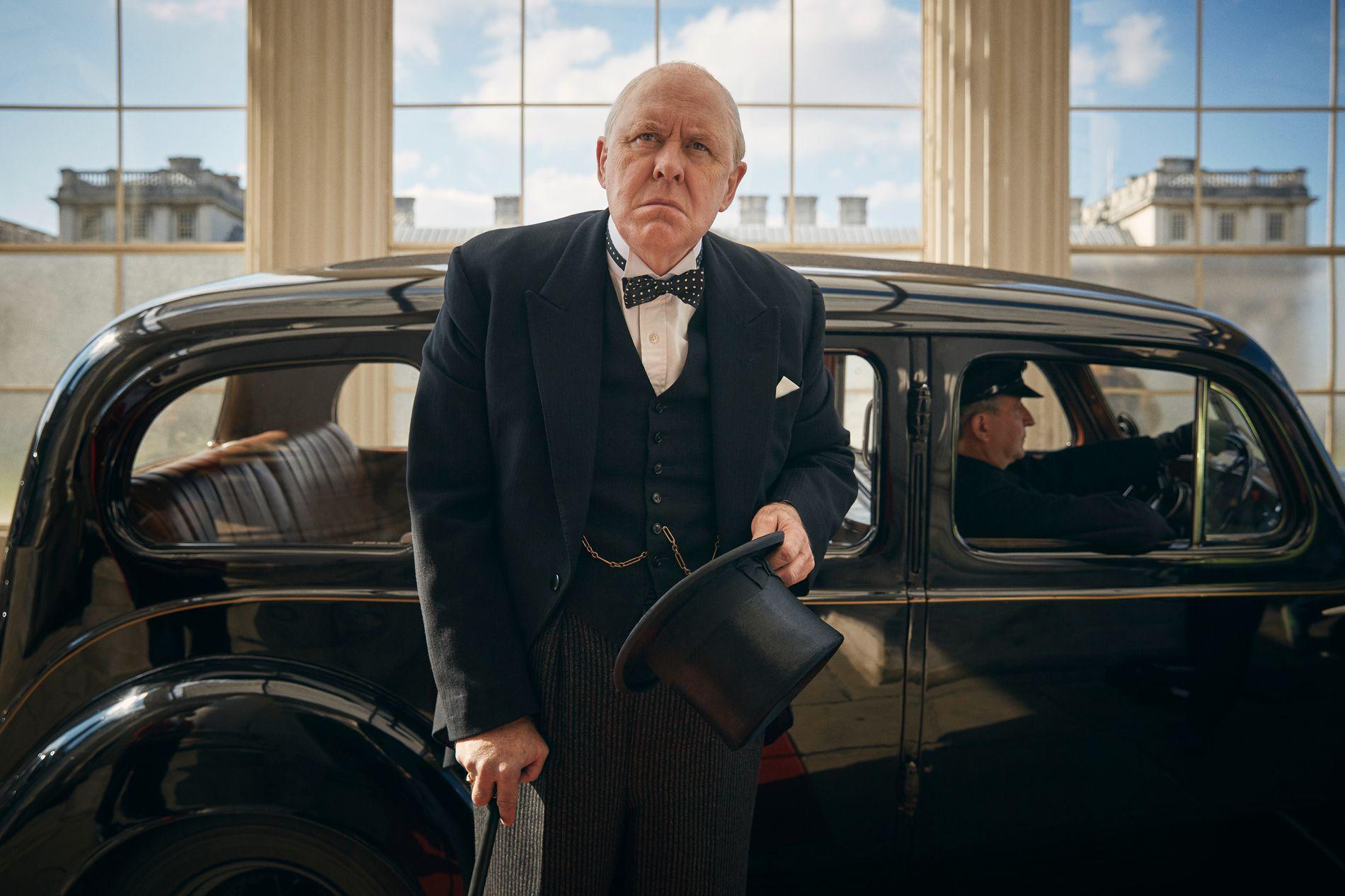 SIR: John Lithgow som Winston Churchill. Foto: Robert Viglasky/Netflix