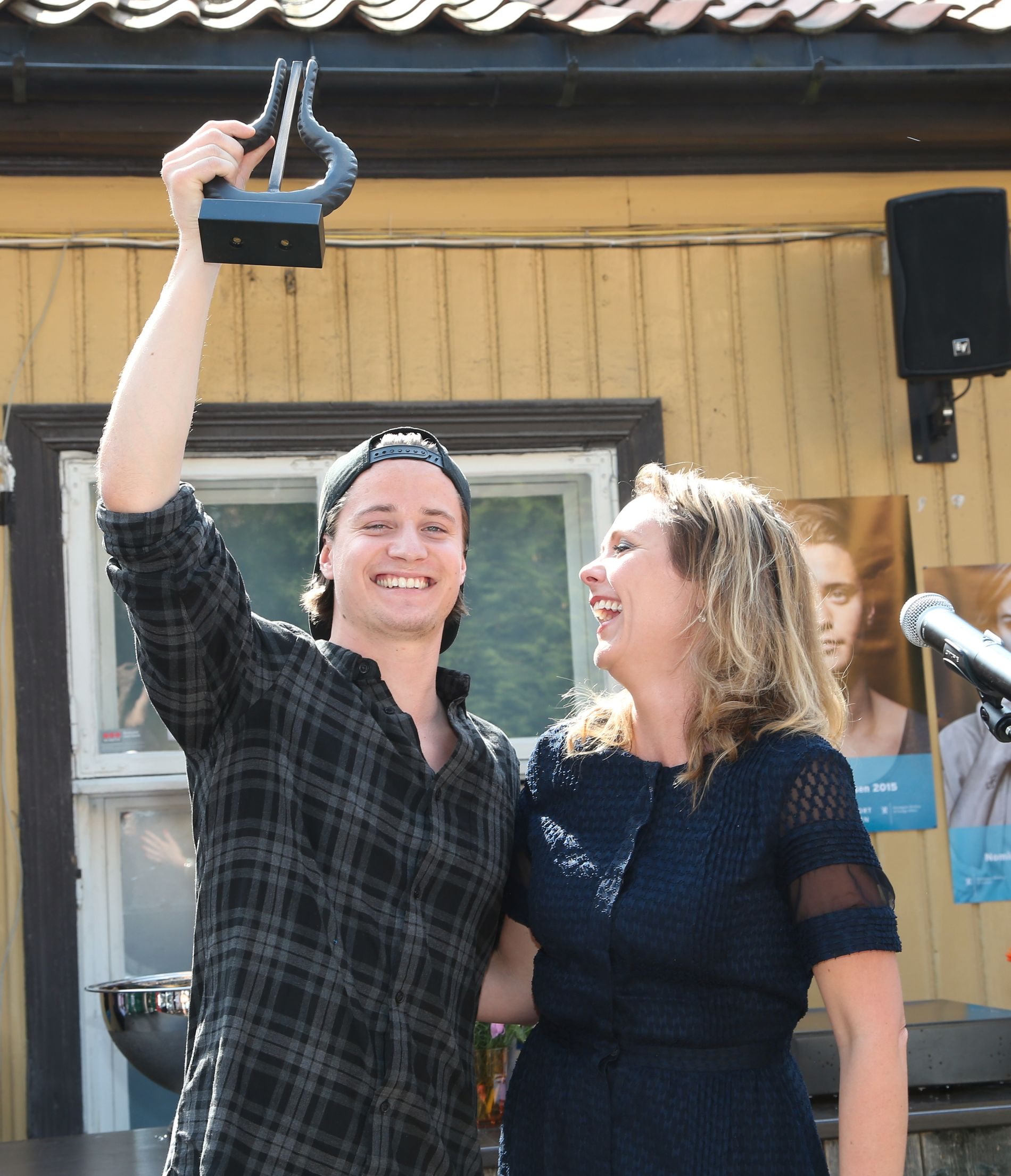 GA KYGO PRISEN: Kulturminister Linda Hofstad Helleland. Foto: GEIR OLSEN