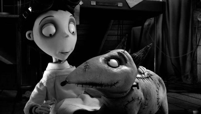 VENNER: Victor og Sparky i «Frankenweenie».