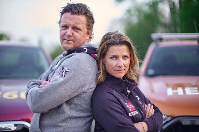 GIR GASS: Märtha Louise og Hest 360-kompanjong Geir Kamsvåg tar begge turen til Biri Travpark på lørdag.