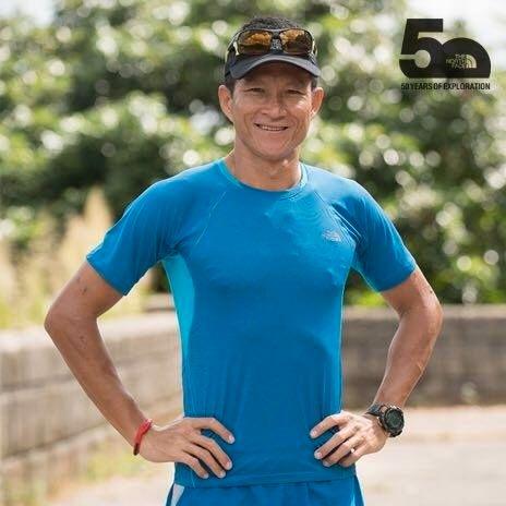 ATLET:  Saman Kunan beskrives som en atlet. På Facebook har han lagt ut en rekke bilder fra løpe- og sykkelturer.