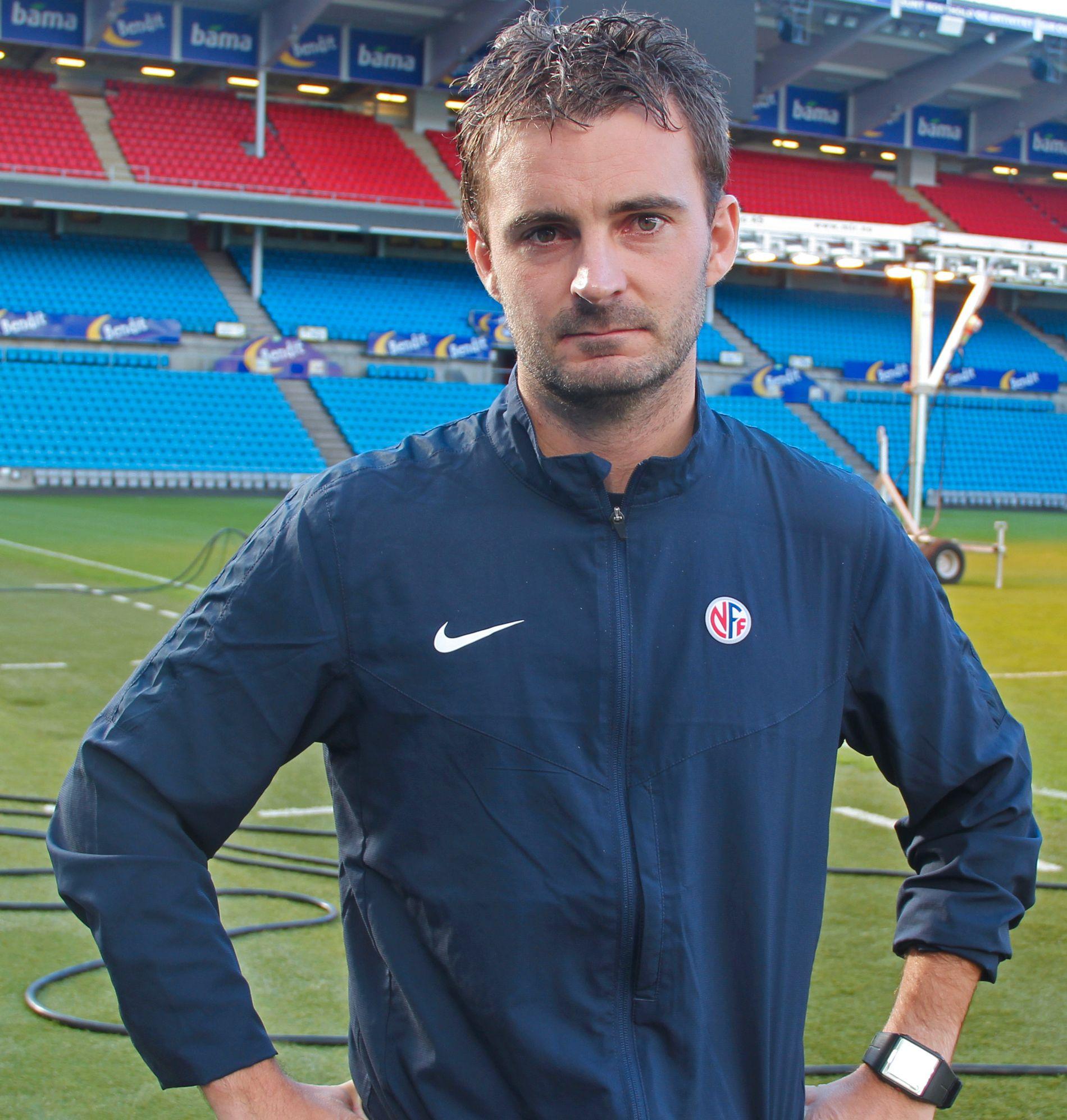 TALENTSJEF: Håkon Grøttland er fagansvarlig for NFFs landslagsskole.