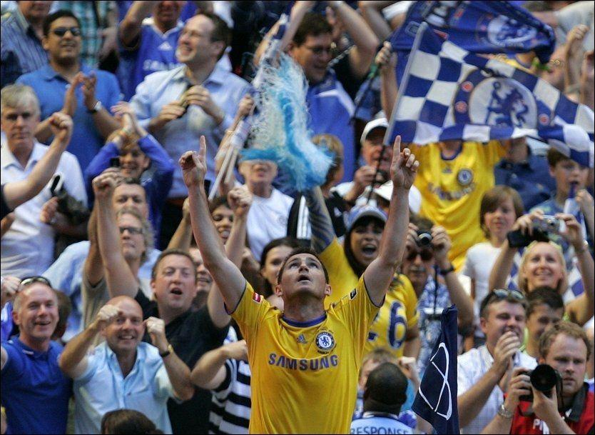 PÅ LØNNSTOPPEN: Frank Lampard og Chelsea har de desidert høyeste lønningene i Premier League. Foto: Scanpix