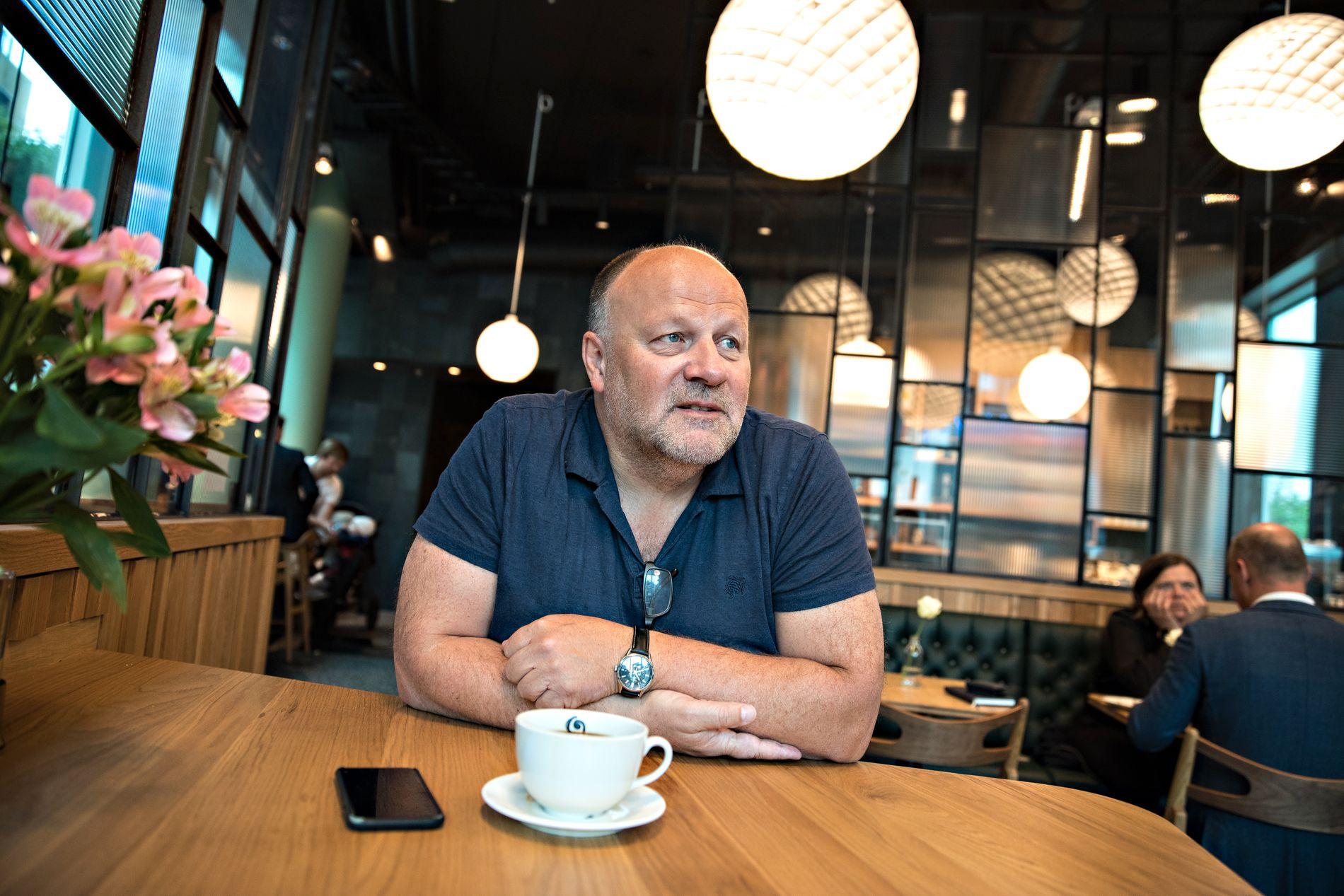 I OSLO: Ivar Koteng møtte VG på en kafé på Tjuvholmen, hvor han eier en leilighet.