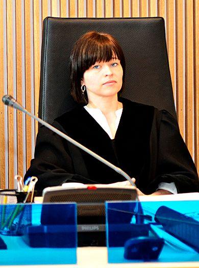 EIDE AKSJER: Brynhild Salomonsen er lagdommer i Hålogaland lagmannsrett. Bildet er tatt i forbindelse med en rettssak i 2012. Foto: ODD LEIF ANDREASSEN, HARSTAD TIDENDE