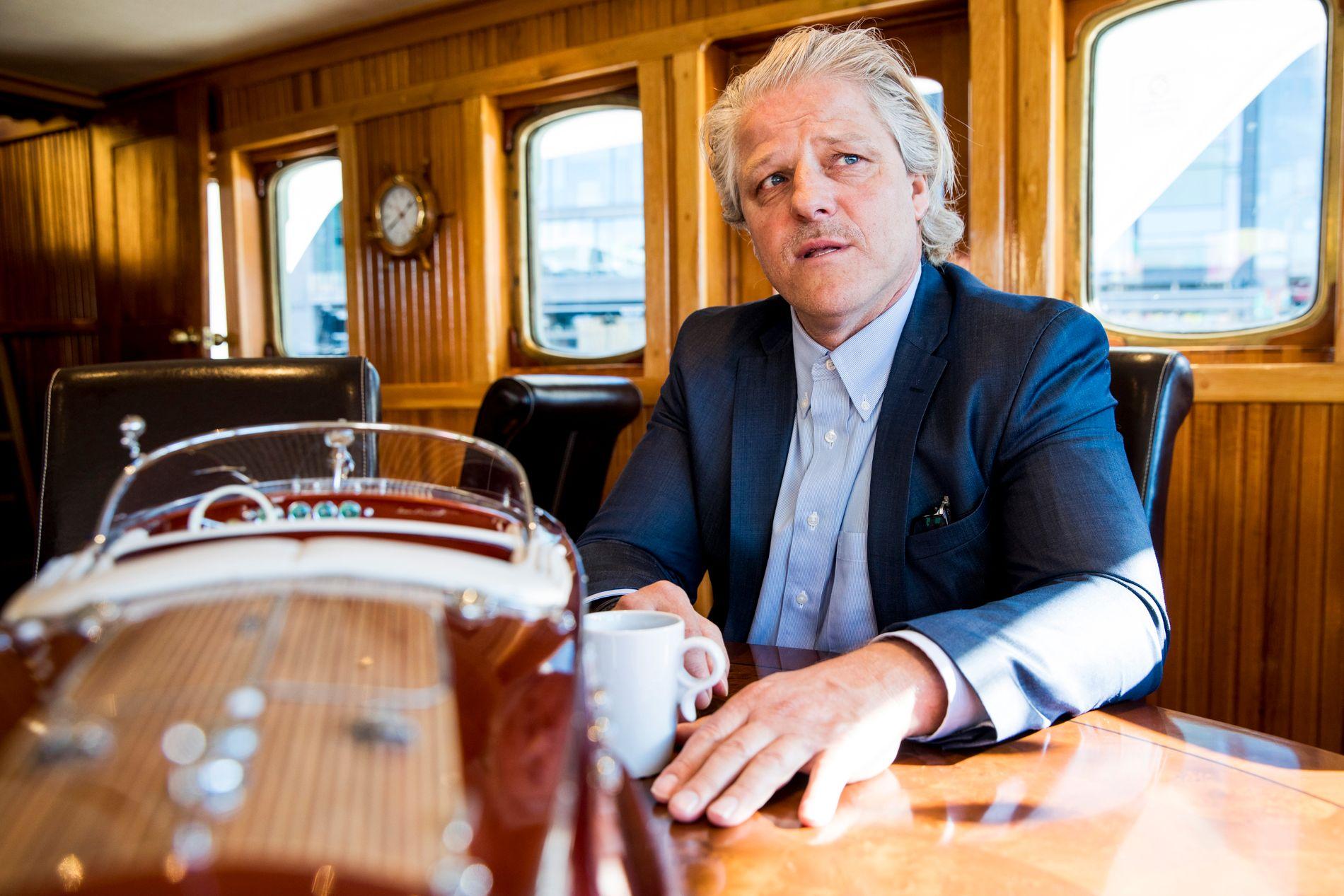 INDUSTRIEVENTYR: Investor Asbjørn Abrahamsen mener obligasjonseierne må godta tilbudet fra Norwegian, og redde det han betegner som det norske folkeeventyret.