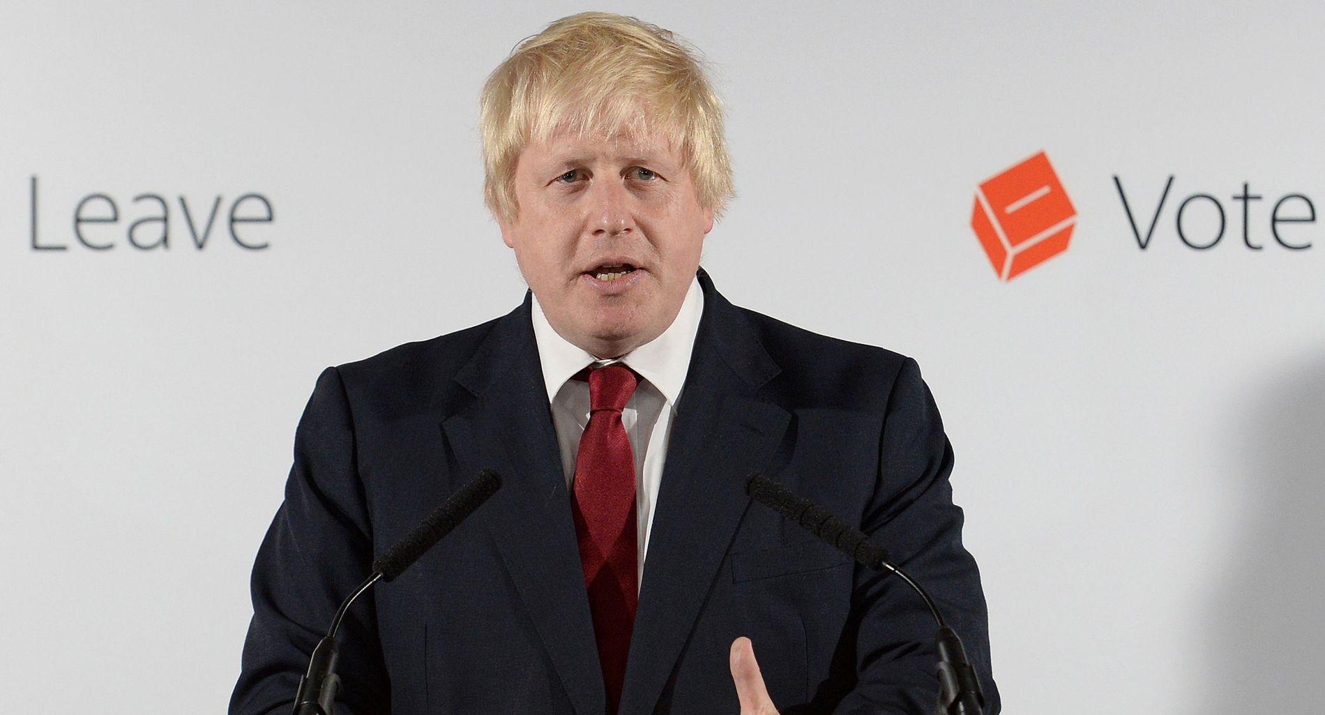 VINNER: Boris Johnson
