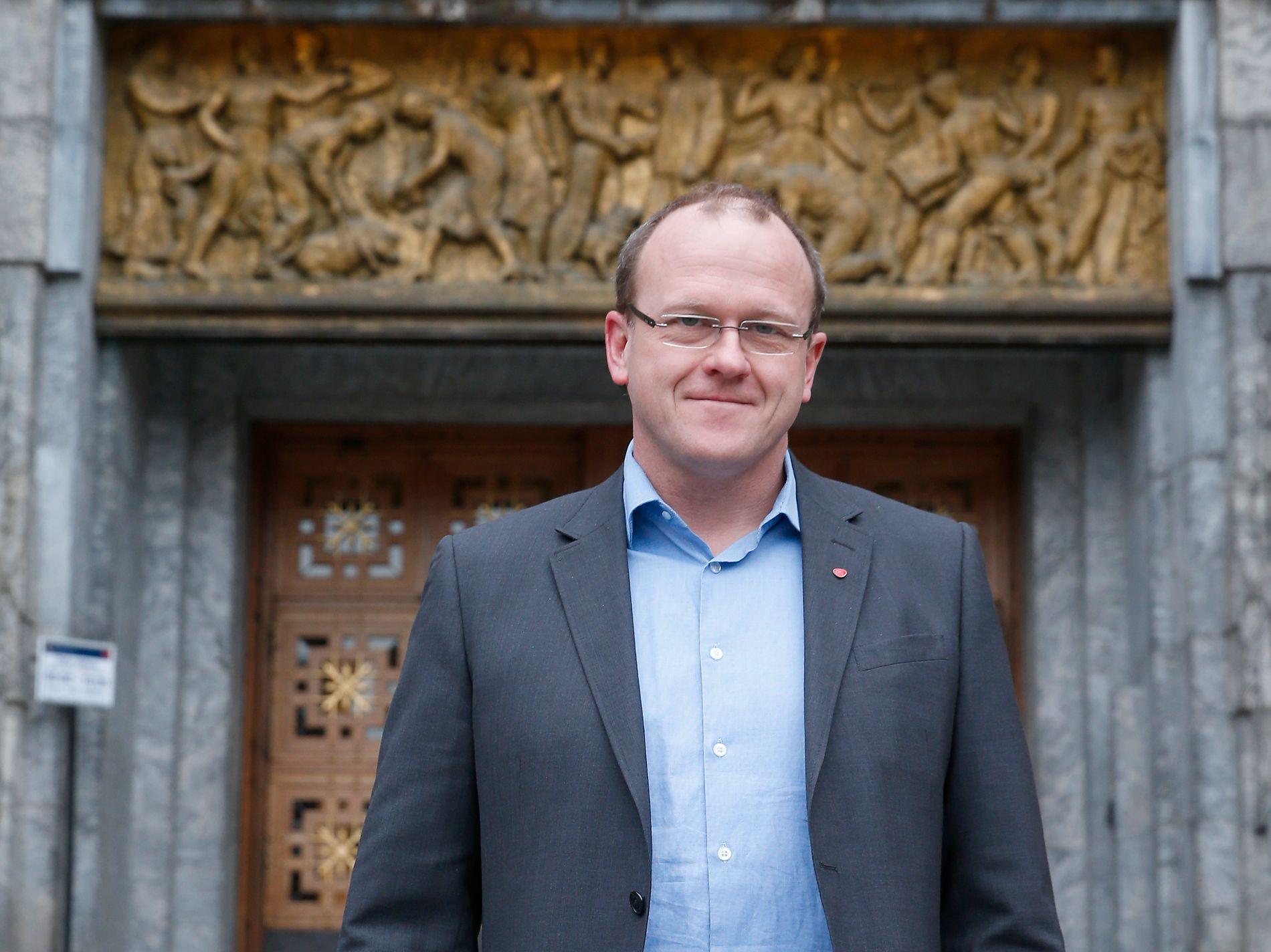 Frode Jacobsen, leder for Oslo Ap. Foto: Vidar Ruud / NTB scanpix