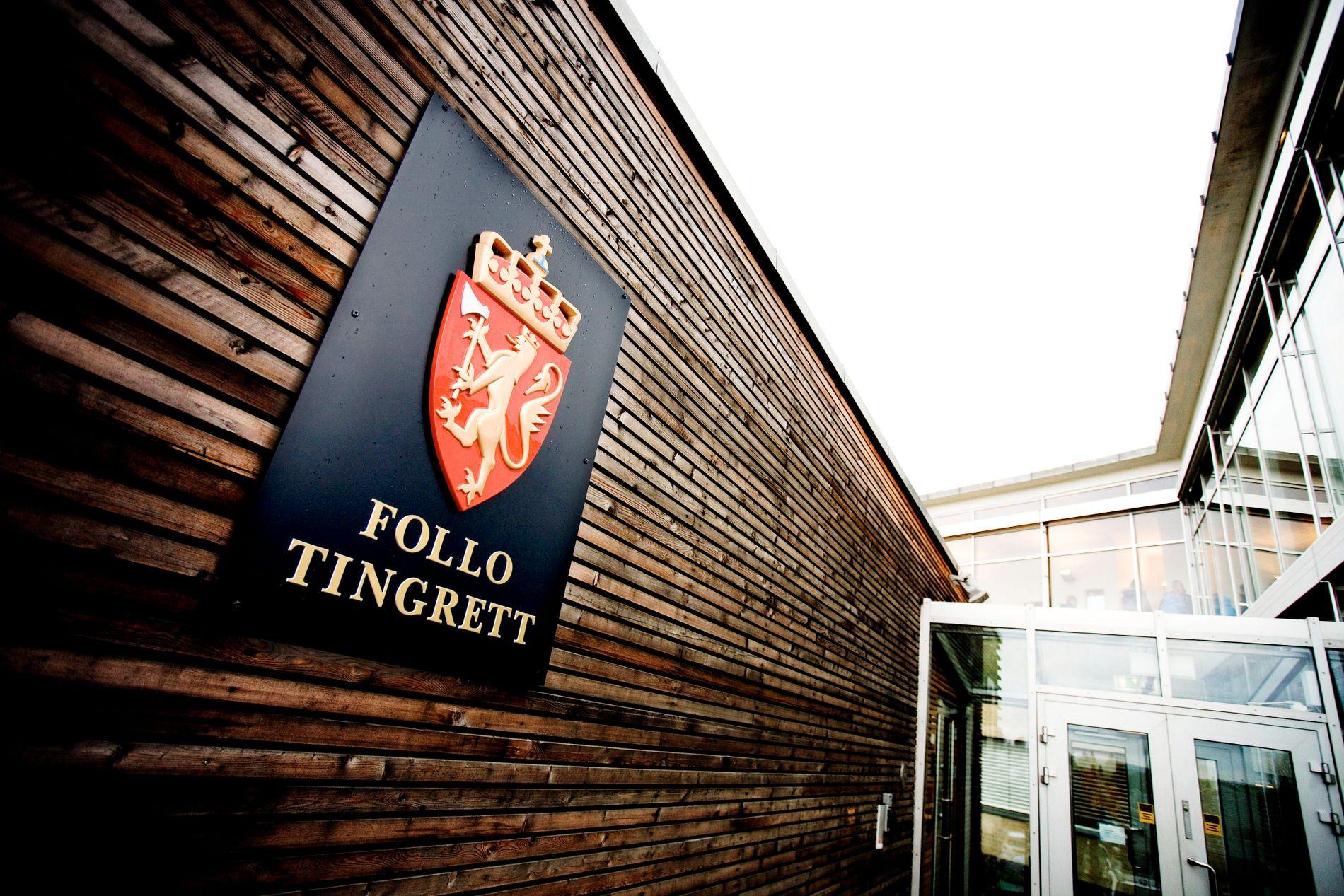 FENGSELSSTRAFF: Dommen mot mannen i 30-årene ble forkynt i Follo tingrett fredag i forrige uke.