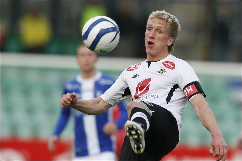 TIL MOLDE: Sogndal-kaptein Per Egil Flo er solgt til Molde. Foto: Alf Vidar Snæland / NTB scanpix