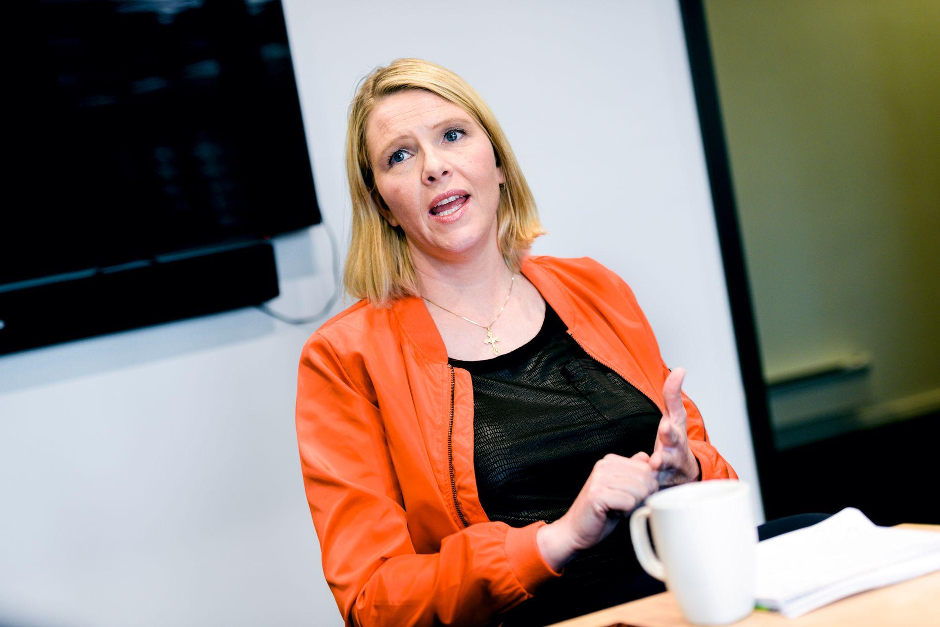 VIL HA VARIGE ENDRINGER: Innvandrings- og integreringsminister Sylvi Listhaug.