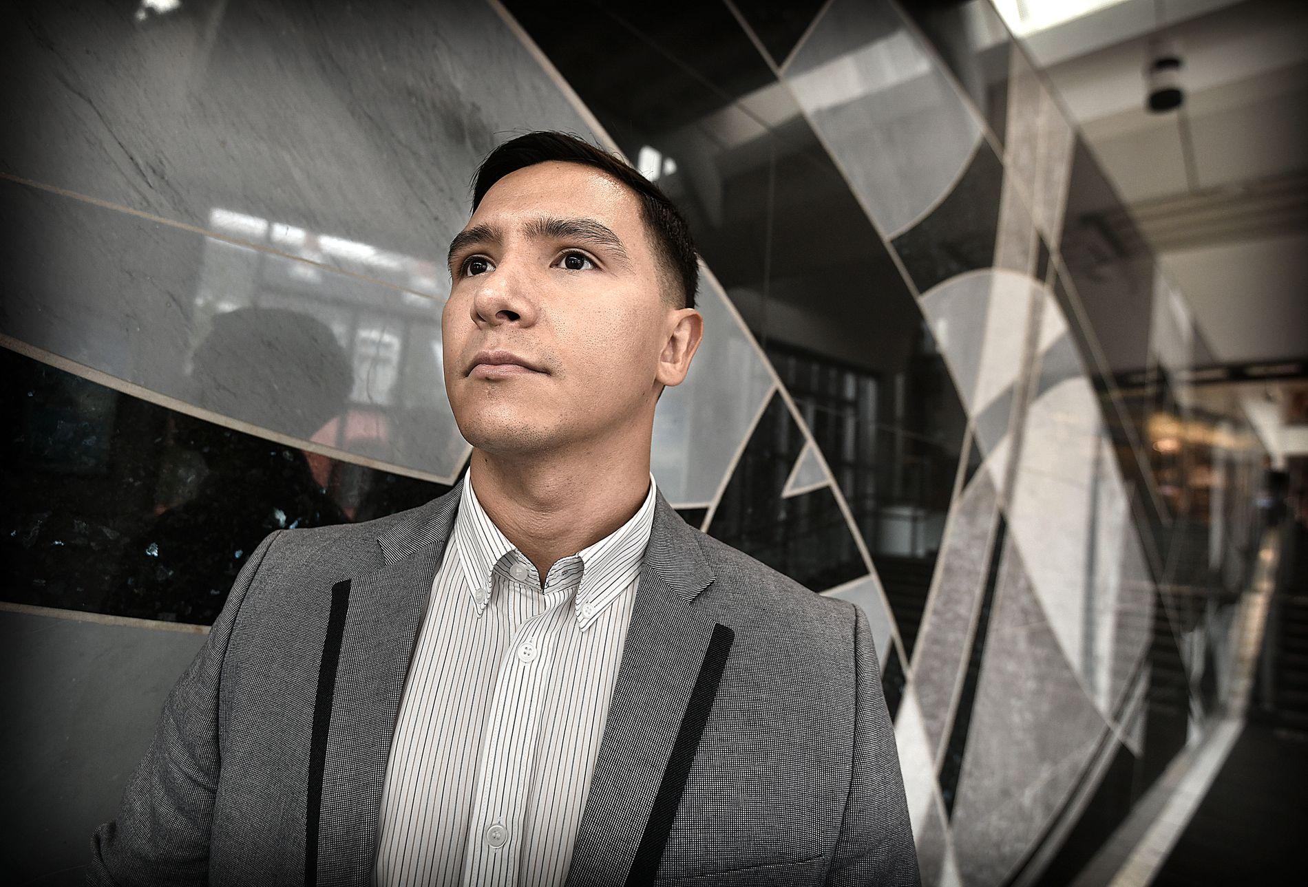 FRYKTER FOR LIVET: Frederik González flyktet fra Venezuela i september i fjor.