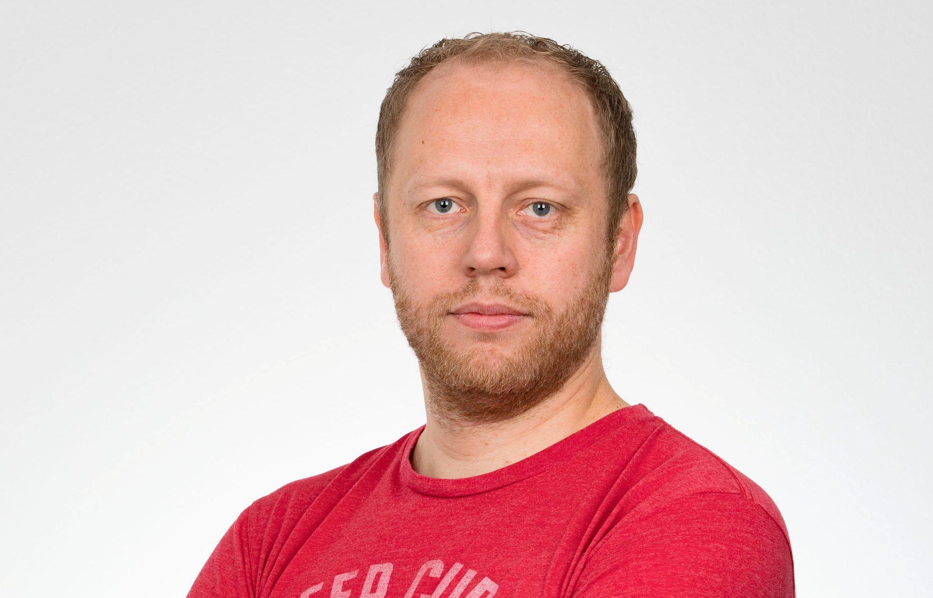 VG-JOURNALIST: Jostein Matre jobber for VG fra USAs hovedstad, Washington, D.C.