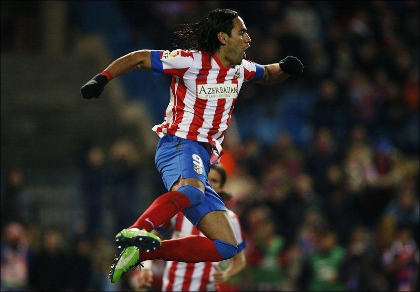 Falcao scoret fem mot Deportivo La Coruña – VG