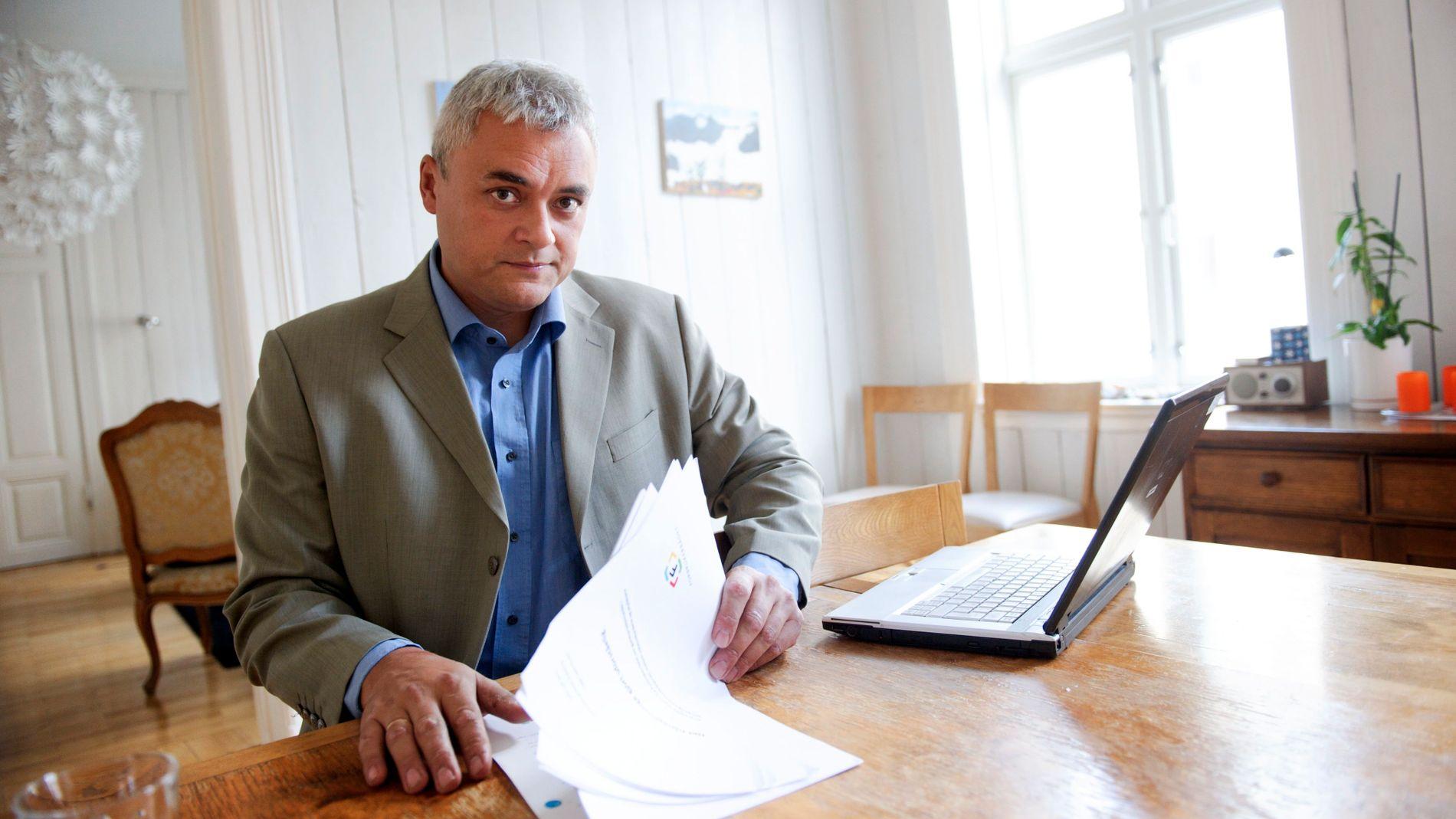 – BURDE BLITT PÅLAGT: Men et privat gjeldsregister er bedre enn å ikke ha noe, sier fagdirektør Jorge Jensen i Forbrukerrådet, som imøteser regjeringens varslede lovforslag denne våren.