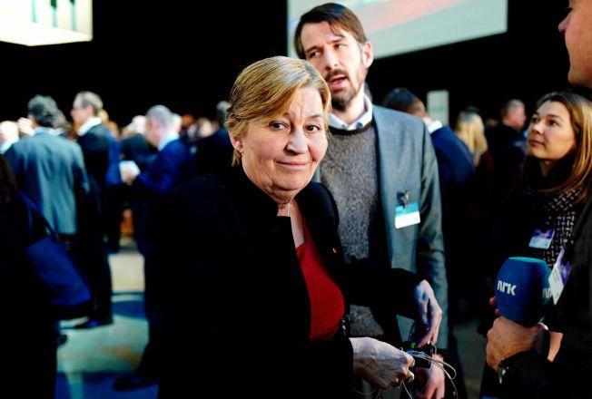 SAMLING: LO-leder Gerd Kristiansen fikk mandag med seg et enstemmig LO-sekretariat på innstillingen om lønnskravene foran årets hovedoppgjør.