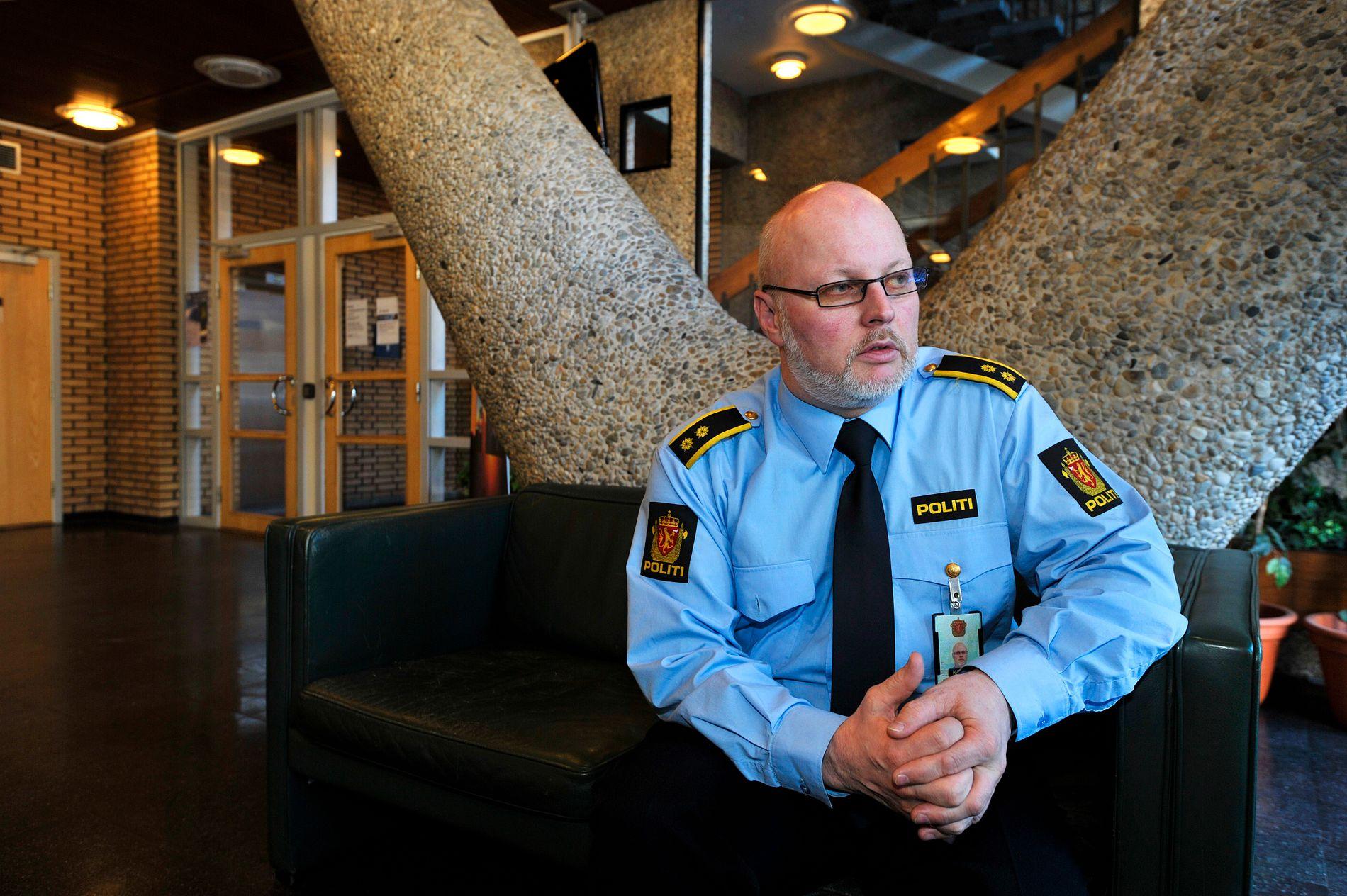 BEKLAGER: Morten Pettersen, leder av felles enhet for operativ tjeneste i Troms politidistrikt, innrømmer at politiets håndtering av situasjonen var for dårlig da mannen varslet dem i august 2016. – Det har vi også beklaget overfor fornærmede, sier han til VG.