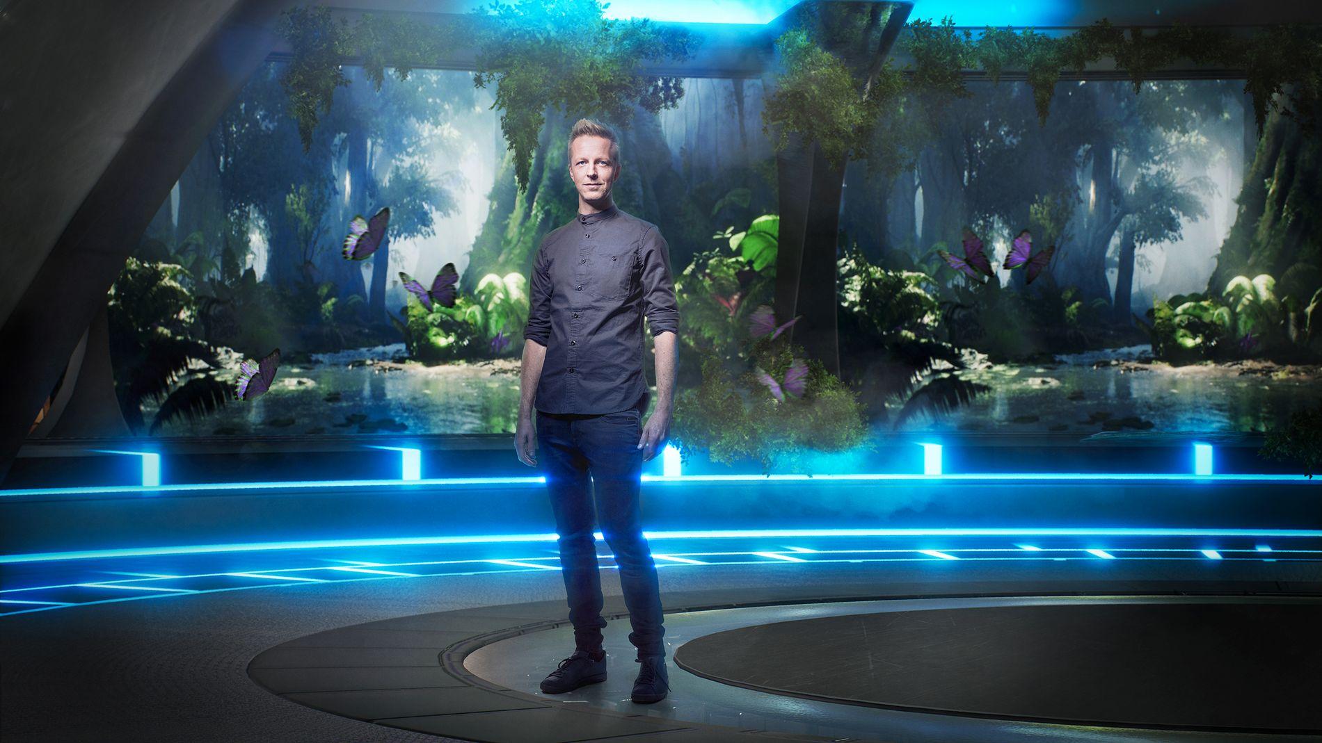 PROGRAMLEDER: Vanligvis gir han «Alt for Norge», men nå blir Fridtjof Nilsen programleder for TVNorges nye storsatsing «Lost in time» som har premiere til våren.