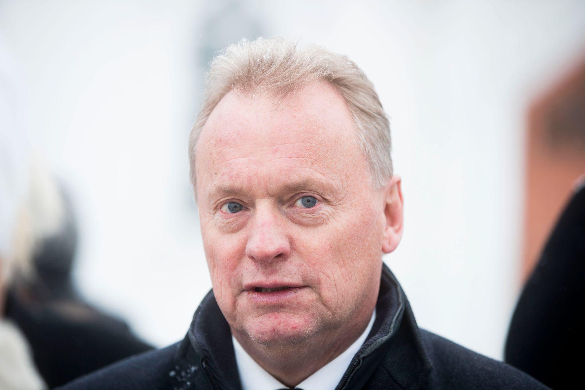 LEI: Byrådsleder Raymond Johansen synes man bør slutte å referere til svenske tilstander.