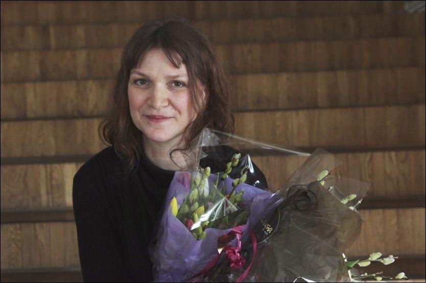 TIL TOPPS - IGJEN: Merethe Lindstrøm ble tidligere i mars hedret med årets litteraturkritikerpris. Torsdag vant hun Nordisk Råds litteraturpris. Foto: Scanpix.