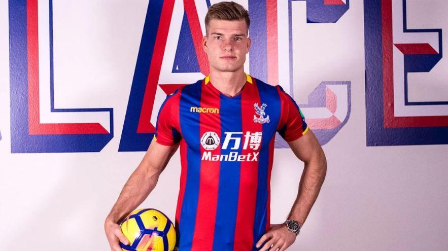 TIL ENGLAND: Alexander Sørloth er klar for Crystal Palace.
