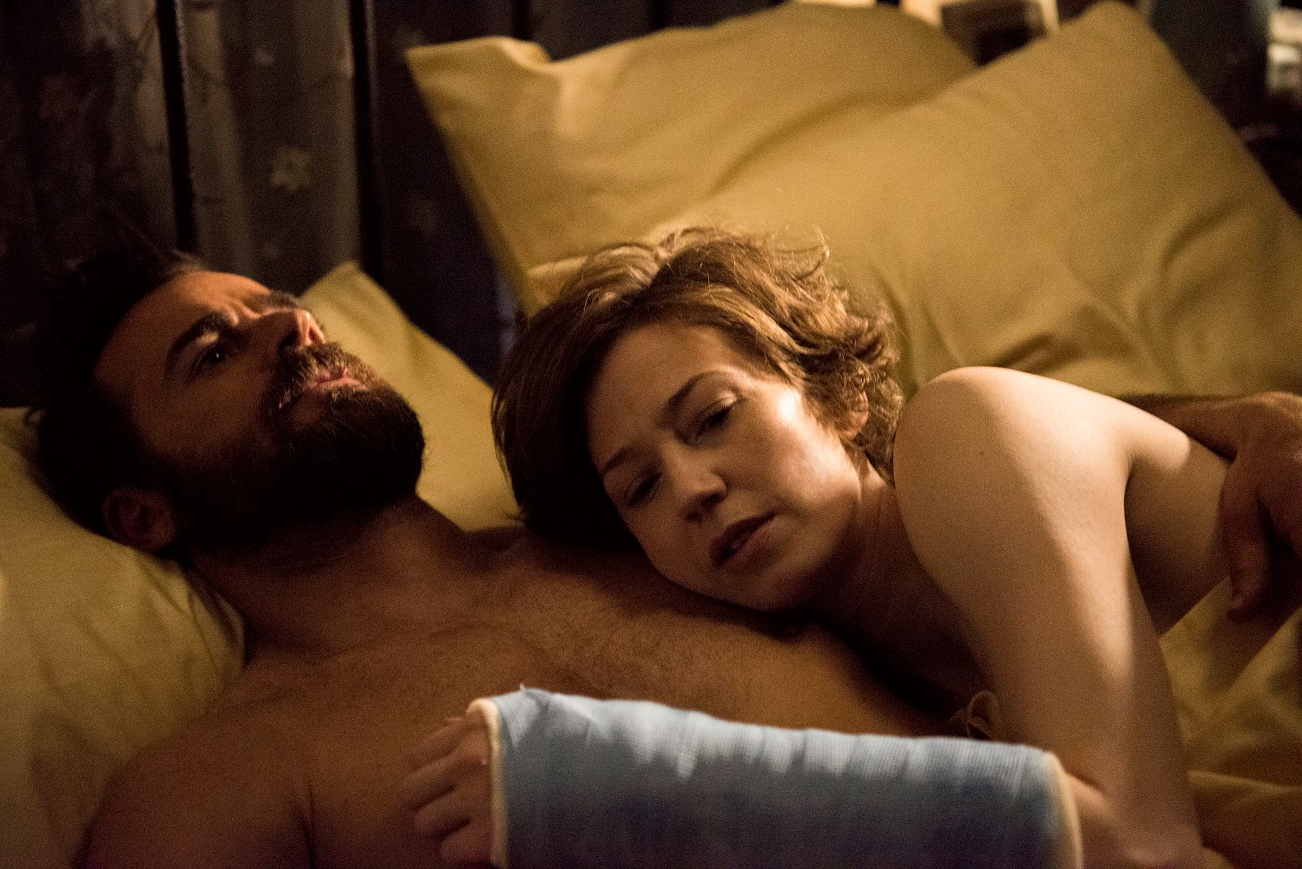 HOVEDROLLER: Justin Theroux og Carrie Coon i «The Leftovers». Foto: HBO NORDIC