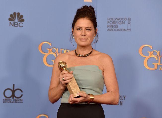 VINNER: Maura Tierney vant pris for birollen i «The Affair». Hennes rolle har fått større plass i sesong 2.