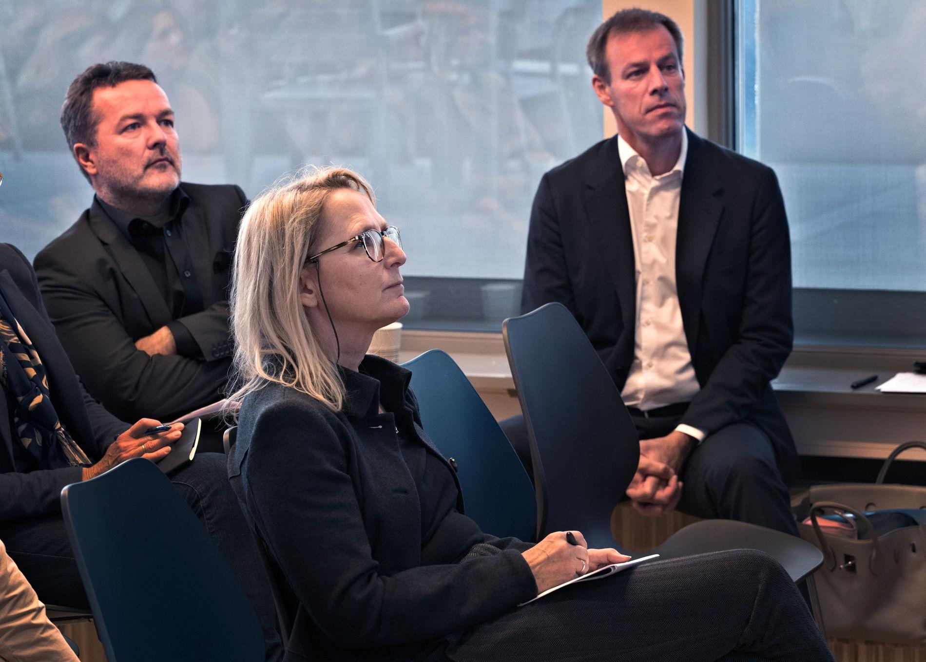 FIKK MILLIONKONTRAKT: Eierne i ILPI (fra venstre) Kjetil Tronvoll, Gro Nystuen og Njål Høstmælingen fikk 24 millioner som tilskudd. Penger de aldri skulle fått, ifølge Sentral kontrollenhet som har gransket tildelingen.