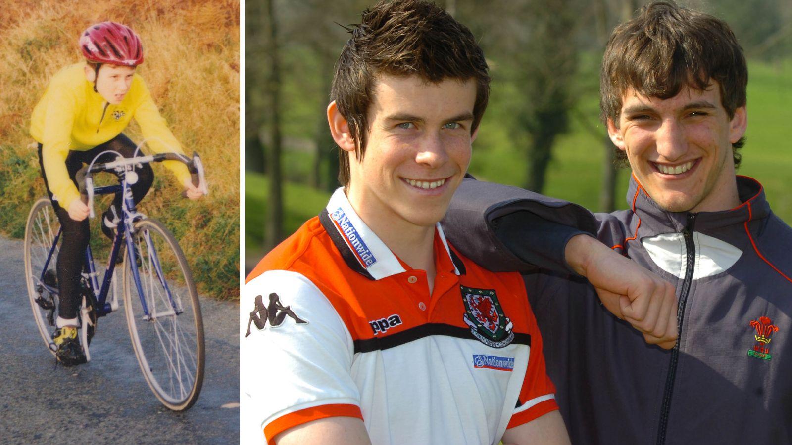 DE TRE STORE: Geraint Thomas, Gareth Bale og Sam Warburton.