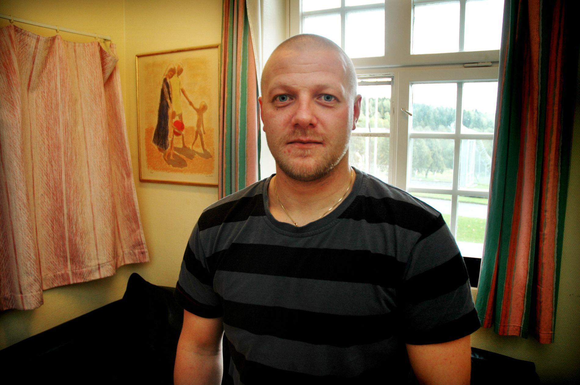 FORTSATT I FENGSEL: Baneheia-dømte Viggo Kristiansen soner fremdeles på Ila fengsel og forvaringsanstalt. Her er han under et intervju med VG i 2008.